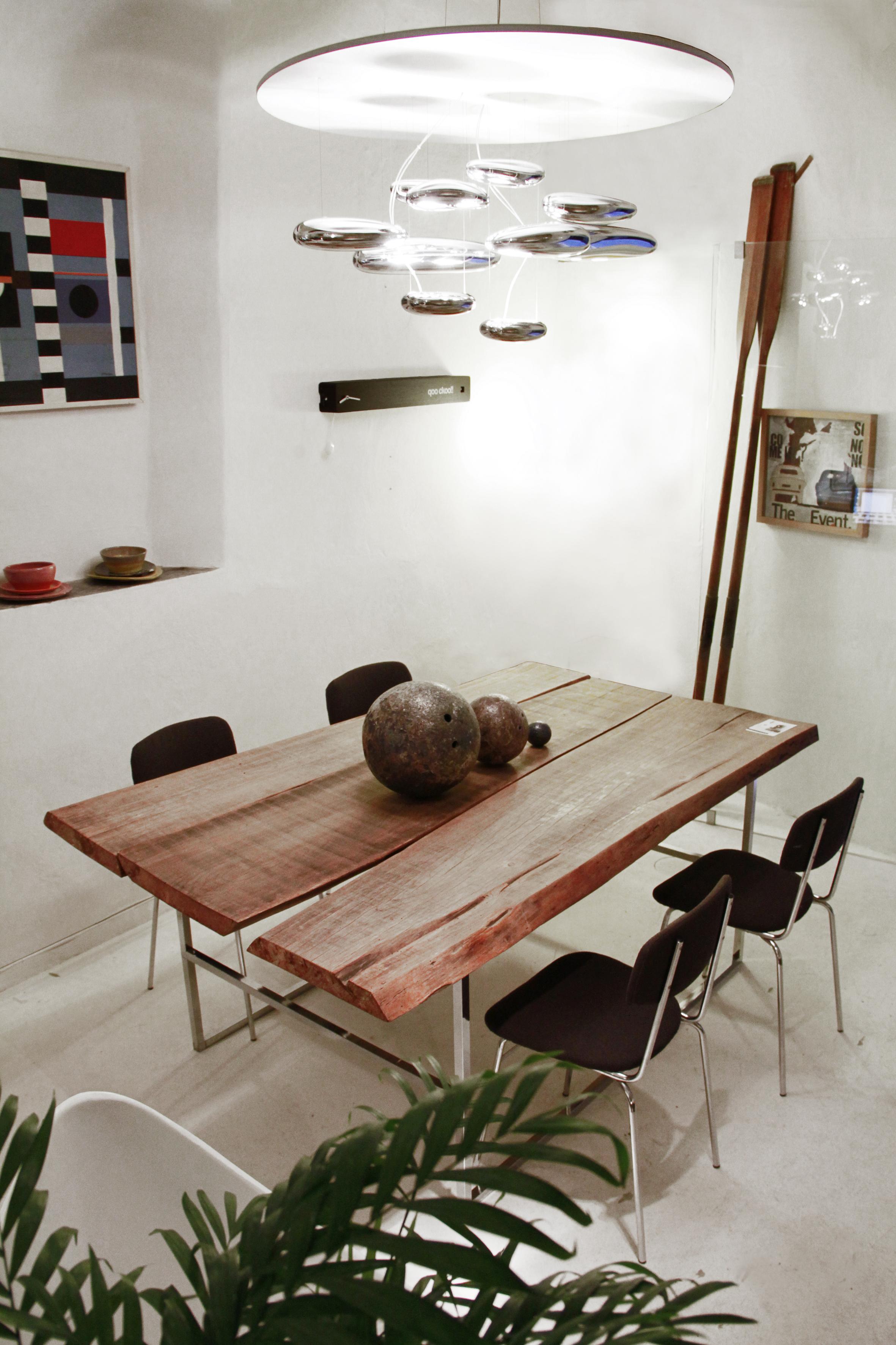 Realizzazione tavolo con materiale di riciclo uso interno for Opzioni di materiale di raccordo