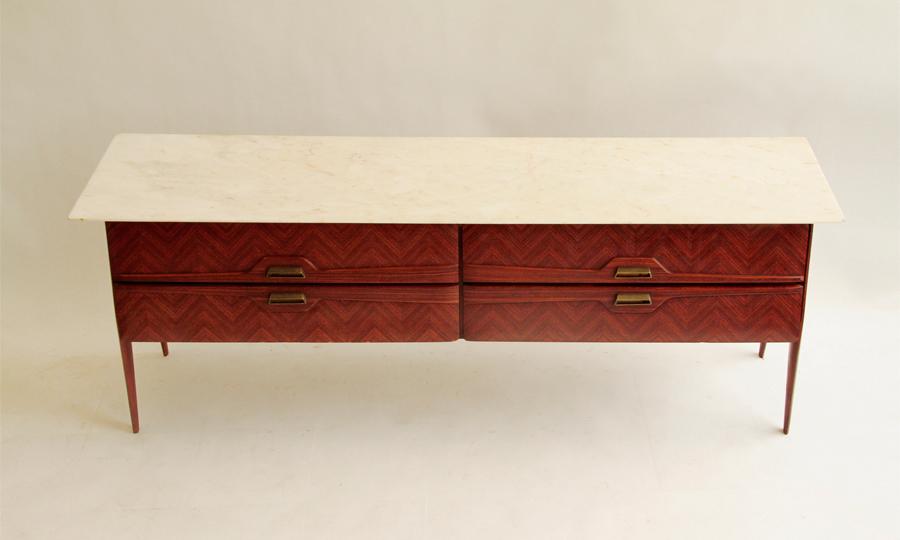 Credenza Modernariato : Credenza mettitutto anni tavolo con marmo sedie cucina