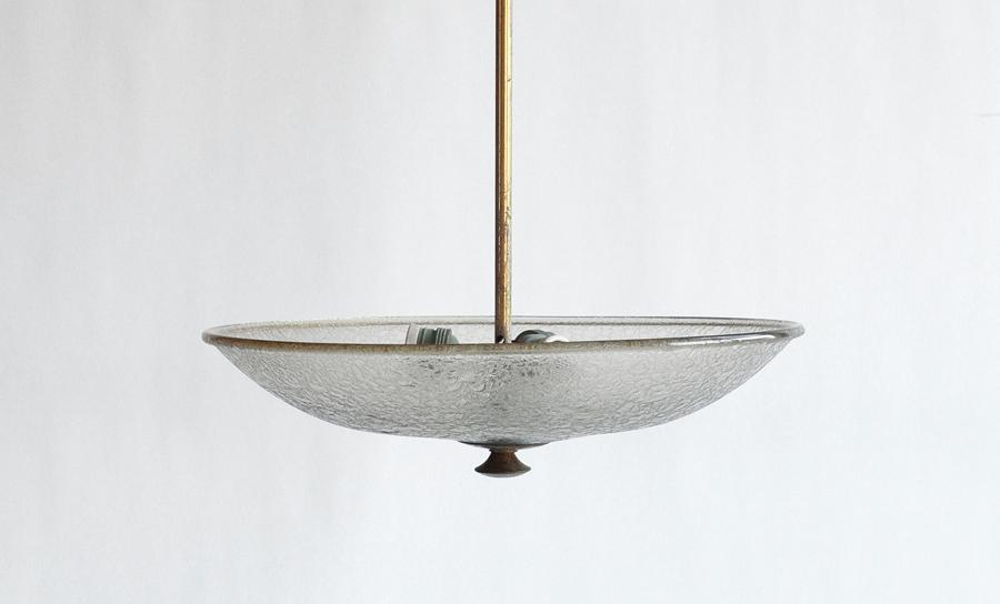 Lampadario Anni 40 nello stile di Fontana Arte - Uso Interno