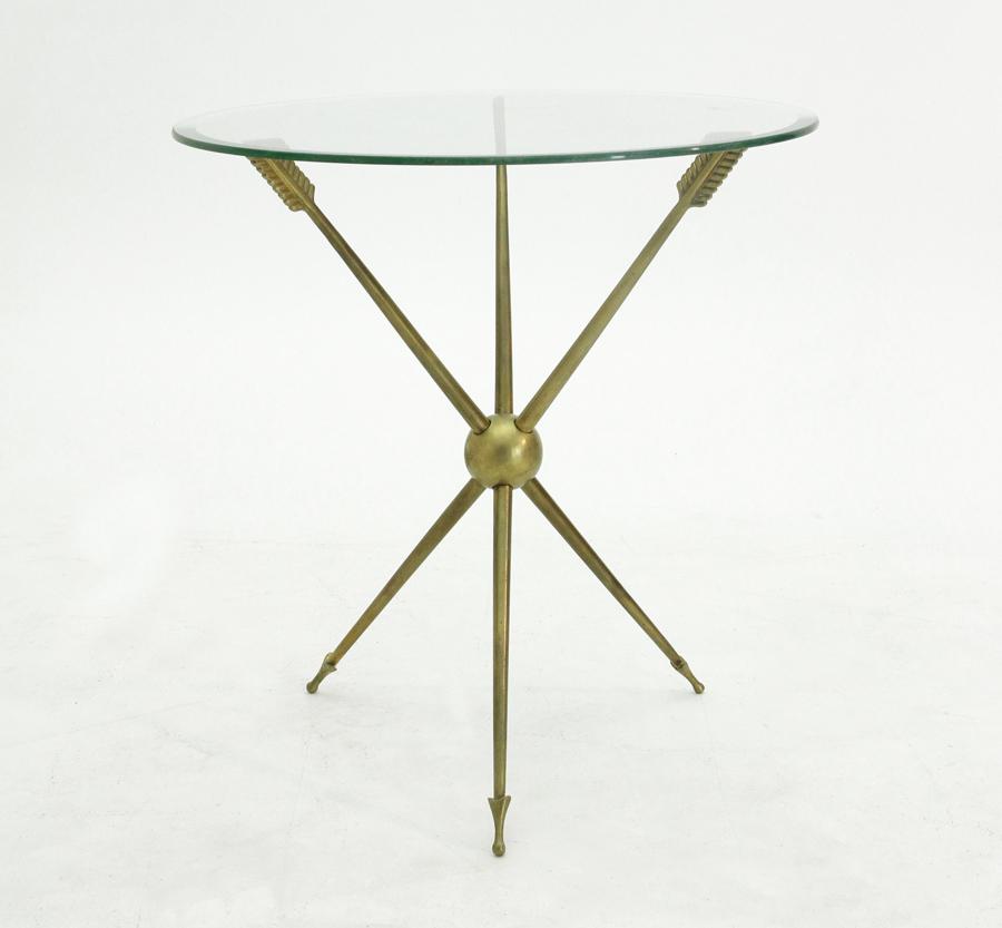 Tavolino anni 39 50 con gambe a freccia uso interno - Gambe mobili anni 50 ...