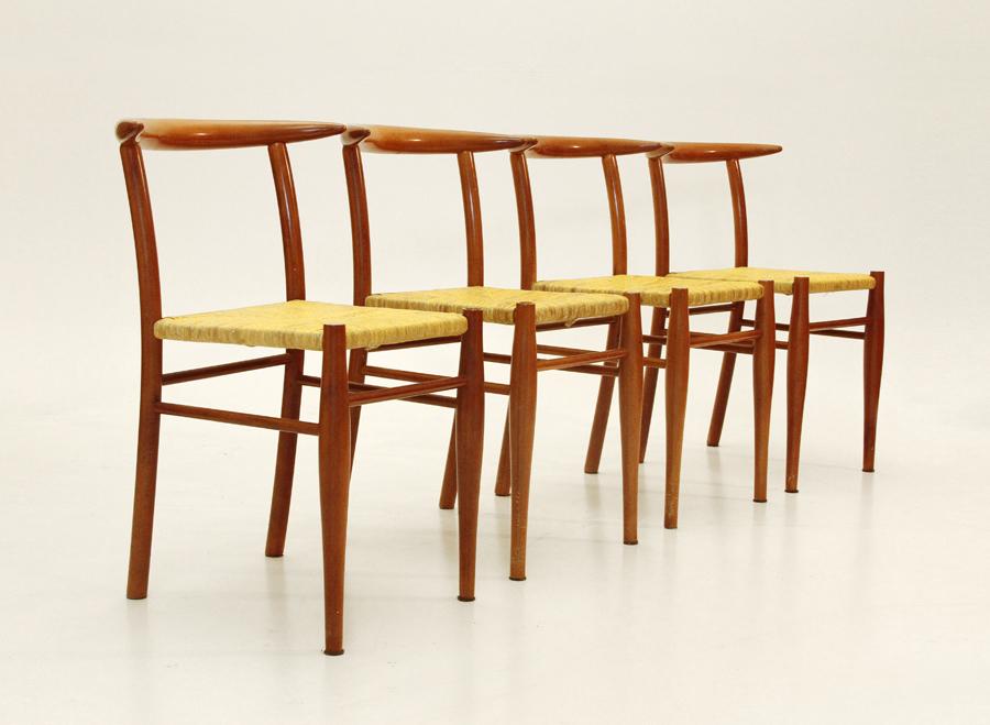 Set di 4 sedie mod tessa nature aleph di philippe starck for Sedie stark