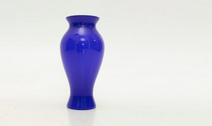 Vaso Montenapoleone di Barovier e Toso in vetro Blu di Murano, blue glass vase