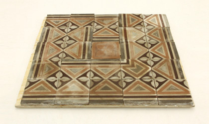 Originali cementine fine 800, italian cement tile, original vintage