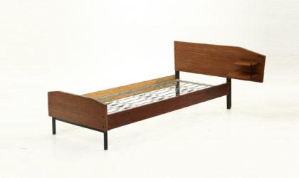 Letto anni 60 italiano in teak, 60's bed,modernariato,vintage, design
