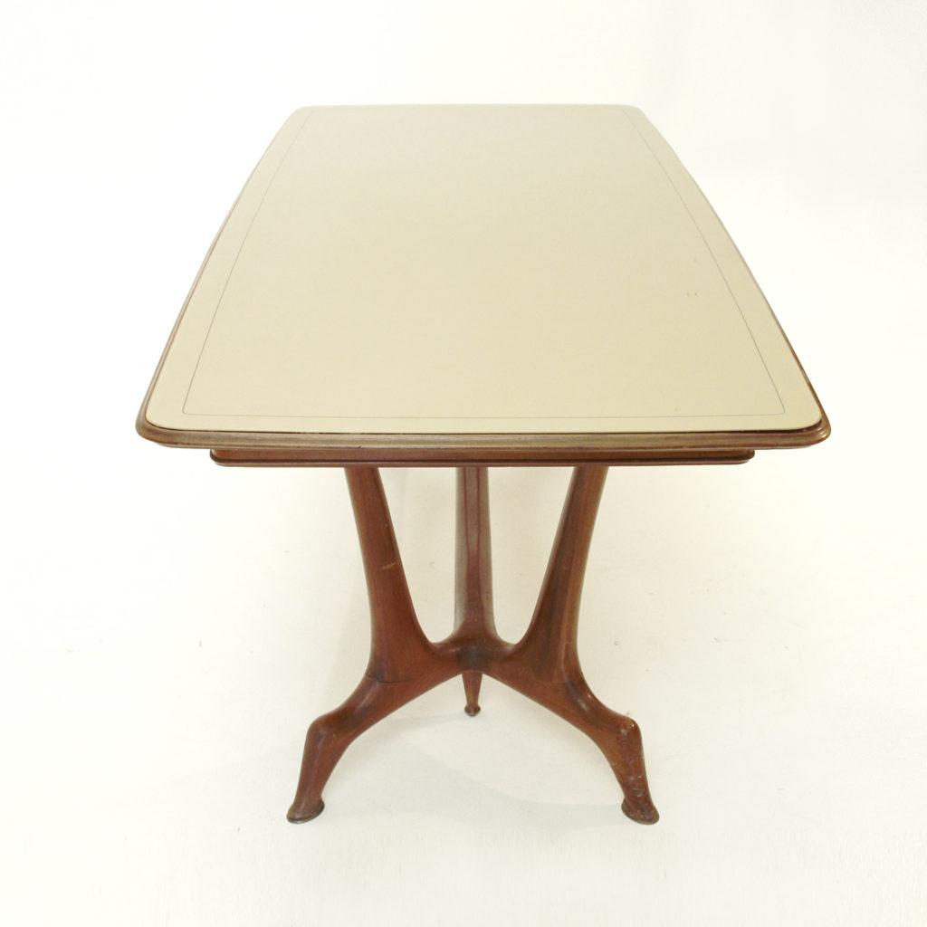 Tavolo da pranzo italiano anni 39 50 uso interno - Lampade da tavolo anni 50 ...