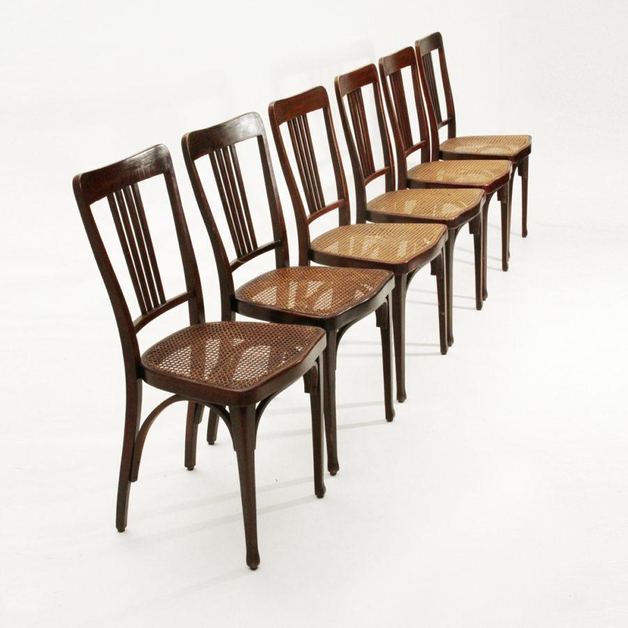 sedie Thonet modello 675, inizio \'900, dining chair, art nouveau ...