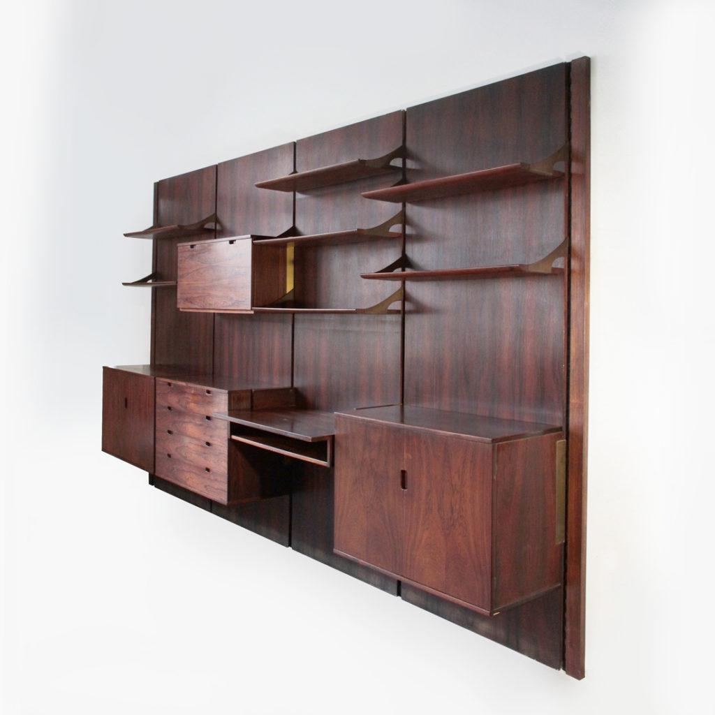 Libreria modulare progettata da raffaella crespi per for Mobilia catalogo