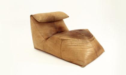 Chaise lounge le Bambole, Mario Bellini per B&B Italia anni 70, leather, italian design, mid century modern