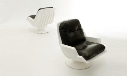 Poltrone Nike di Richard Neagle per Sormani, armchairs mid century, italian modern, 60's, design, white, black