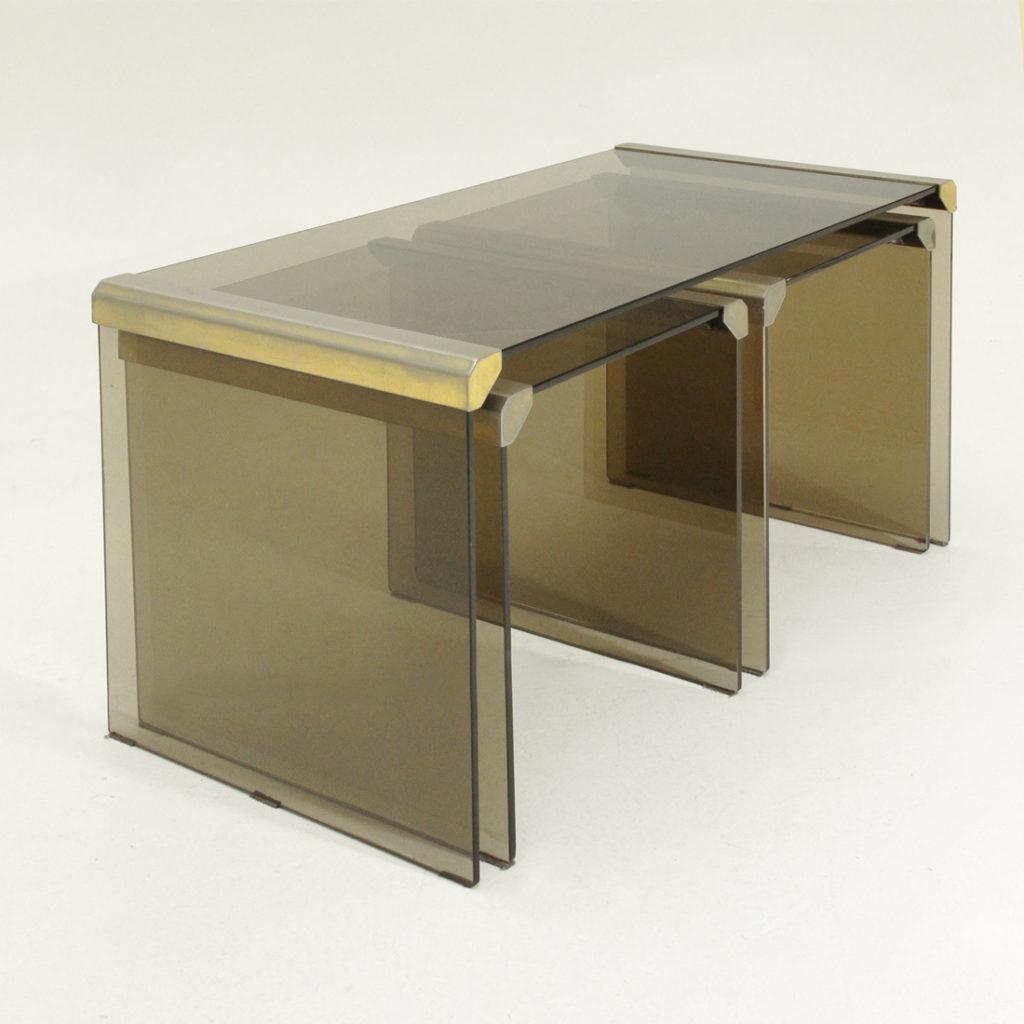 Set di tavolini t35r di pierangelo gallotti per gallotti e - Gallotti e radice tavoli ...