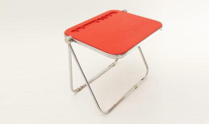 Scrivania pieghevole Platone di Giancarlo Piretti per Anonima Castelli, desk, mid century modern italian design, folding, table