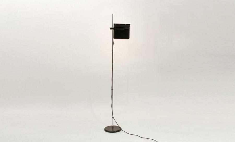 Lampada Vintage Da Terra : Lampada da terra bis di bruno gecchelin per arteluce anni 70 floor