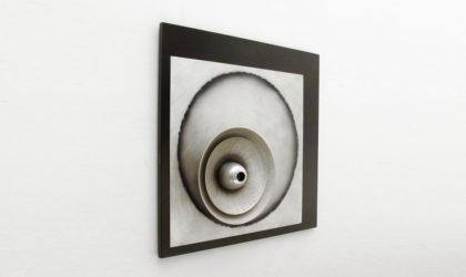 Lampada composizione Nido di Otello Ciulini per Studio EF Viareggio anni 70, paint lamp, sconces, appliques, mid century modern, post modern, italian design