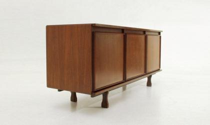 Credenza Caleno di Giovanni Ausenda per Stilwood anni '60, mid century sideboard, rosewood, palissandro, 60's, centro, italian modern