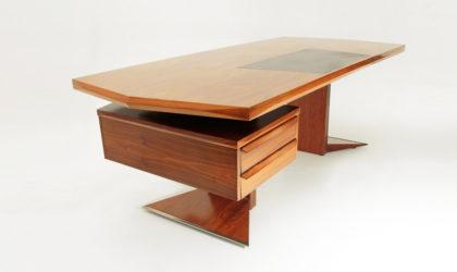 Scrivania Modernista anni 60, mid century desk, borsani style, tecno, albini, carlo de carli, gio ponti, rima, 60's, italian design