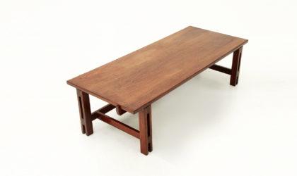 Tavolino mod. 751 di Ico Parisi per Cassina anni '60, mid century coffee table, 60's, italian modern, walnut
