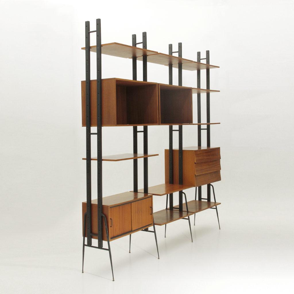 Libreria modulare fraber uso interno for Libreria modulare