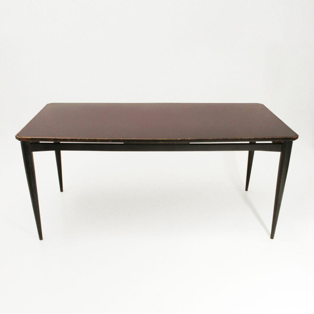 Tavolo In Legno Con Piano In Vetro.Tavolo In Legno Con Piano In Vetro Bordeaux Uso Interno