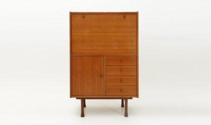 Credenza in teak anni '50, mid century sideboard, 50s, italian design, higboard, wood, modern,