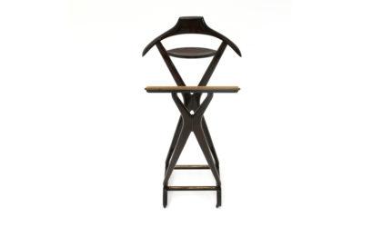 Appendiabiti Servomuto di Ico Parisi per Reguittii anni '50, mid century hanger, 50s, wood, Italian modern design, gio ponti