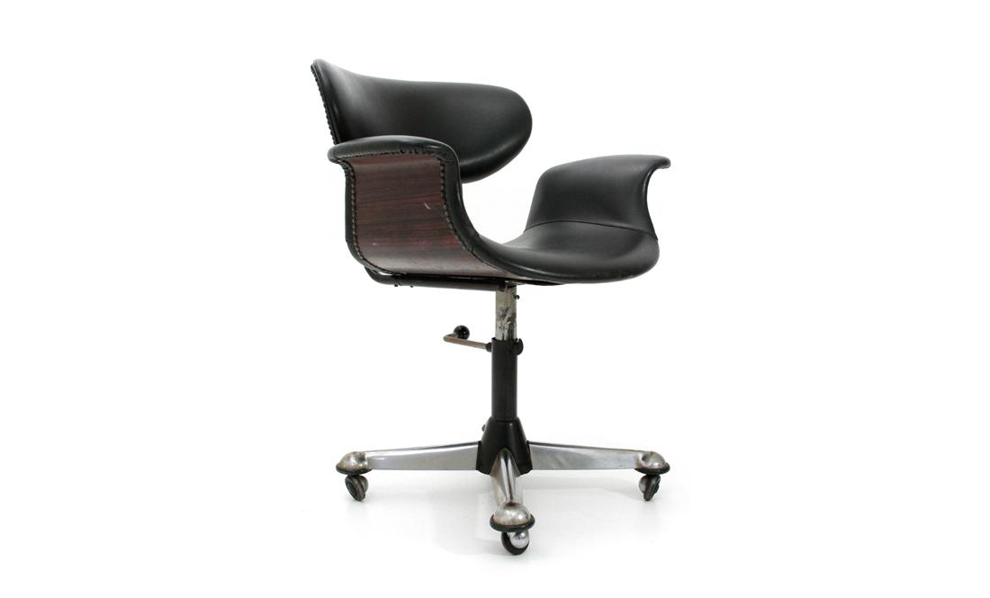 Sedie Ufficio Anni 50 : Sedie girevole da ufficio anni 50 mid century office chair