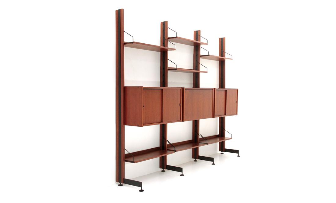 Libreria selex della industria mobili barovero uso interno for Industria mobili