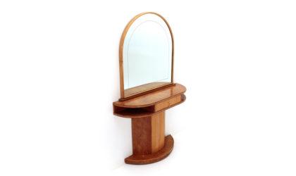 Consolle con specchio anni '40, vintage console, 40s, italian design, mid century modern, gio ponti, osvaldo borsani, guglielmo ulrich, art decò