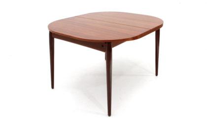 Tavolo quadrato allungabile anni '60, dining table, 60s, mid-century modern, extendible, teak, vintage