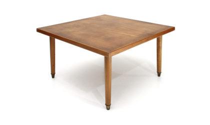 Tavolino con piano quadrato anni '40, coffee table, 40s, mid-century modern, paolo buffa, vintage, italian design