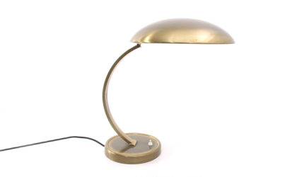 Lampada da tavolo in ottone di Kaiser Leuchten anni '50, table lamp, mid-century modern, 50s, modernist, design, brass, bauhaus