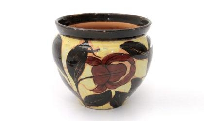 Vaso in ceramica di Albisola Art decò anni '30, ceramic vase, mid century modern, 30s, flowers