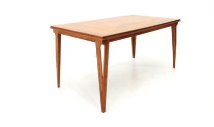 Tavolo da pranzo in legno anni '50, dining table, mid-century modern, 50s, italian design, ico parisi, gio ponti