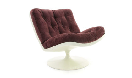 Poltrona con scocca in resina anni '60, armchairs, mid-century modern, vintage, Geoffrey Harcourt, Artifort, space age, f978