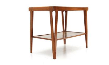 Tavolino con due ripiani anni '50, coffee table, mid-century modern, 50s, italian design, ico parisi, carlo de carli
