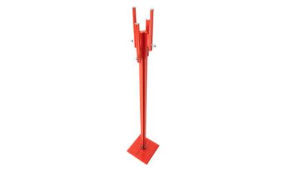 Appendiabiti rosso di Carlo de Carli per Fiarm anni '60,coat rack, italian design, mid-century modern, 60s, red