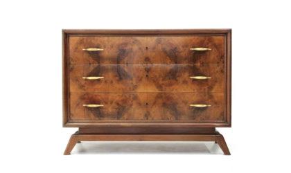 Cassettiera Con maniglie in ottone anni '50, chest of drawers, italian design, mid-century modern, 50s, gio ponti, franco albini