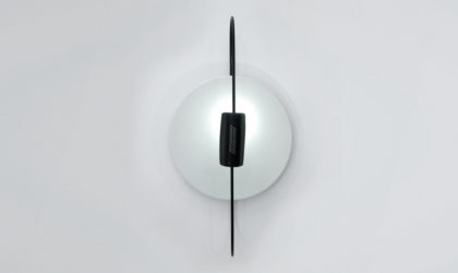 Plafoniera 'Spilla' di Luciano Pagani per Arteluce anni 80, ceiling lamp, italian design, mid-century modern, 80s,