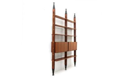 Libreria Giraffa di Paolo Tilche per Arform anni 60, wall unit, italian design, mid-century modern, 60s, bookcase, franco albini, poggi