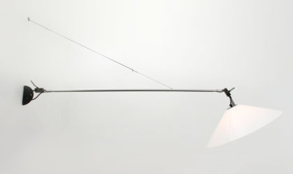 Lampada da muro 'Aggregato' di Enzo Mari per Artemide anni 70, wall lamp, italian design, mid-century modern, 70s, Methacrylate