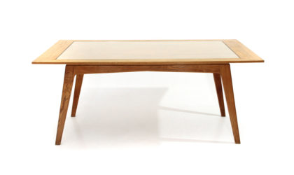Tavolo da pranzo rettangolare con vetro anni '50, dining table, italian, midcentury modern, gio ponti, ico parisi, melchiorre bega