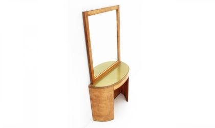 Consolle toeletta razionalista anni 40, vanity desk, 40s, italian modern design, mid-century modern, consolle, rationalism,