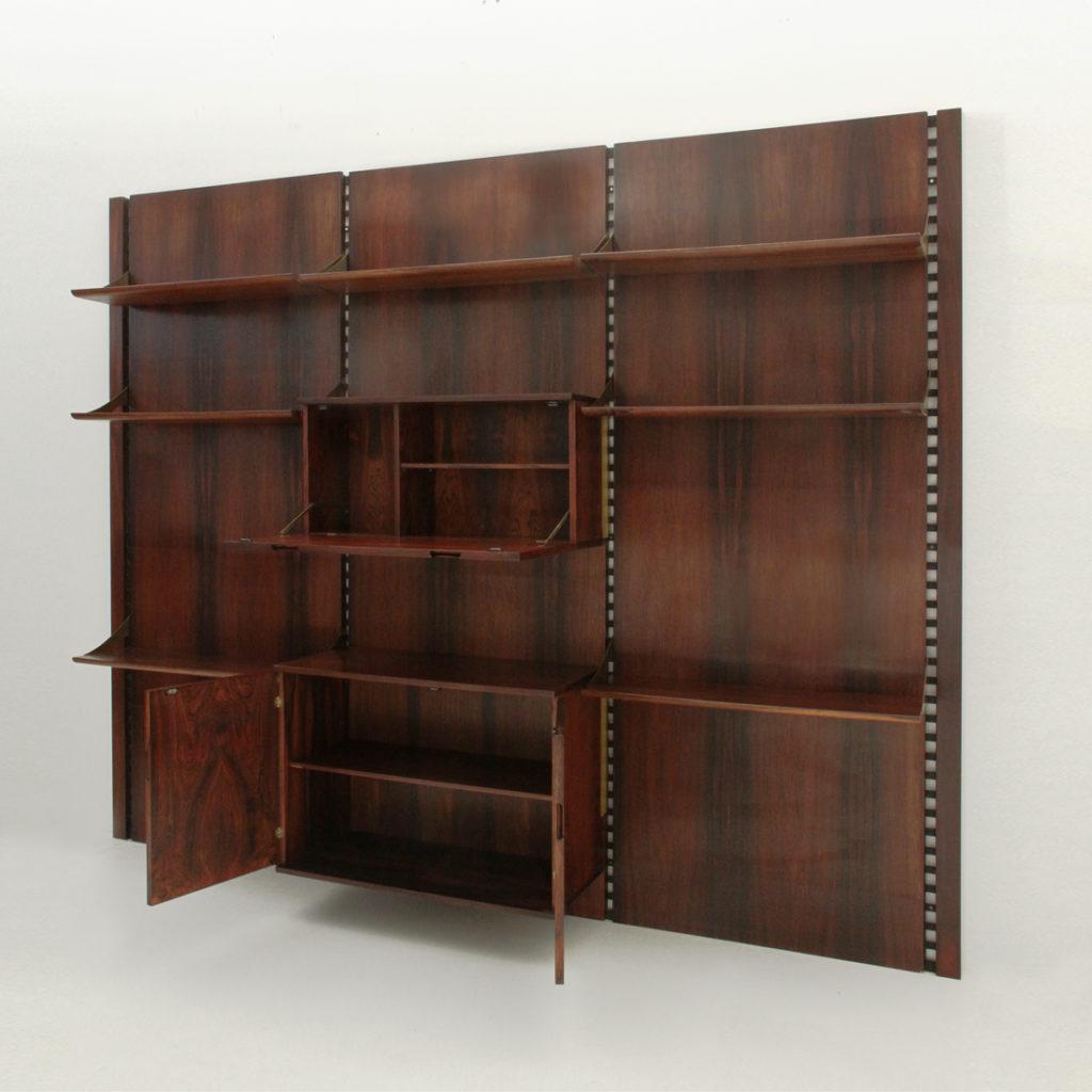 Libreria mobilia in palissandro uso interno for Mobilia catalogo