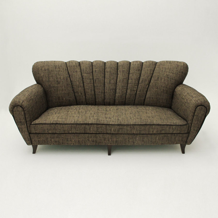 Divano Tre Posti.Dettagli Su Divano Tre Posti Anni 50 Mid Century Sofa 50 S Vintage Italian Modern